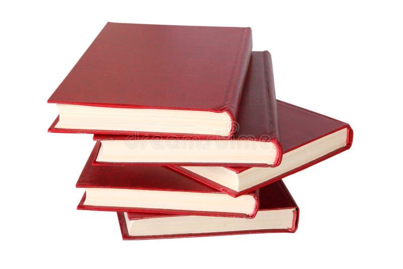 Boekenstapel stock foto