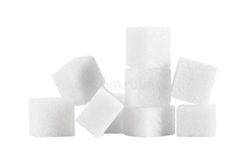 De stapel van de suiker stock foto