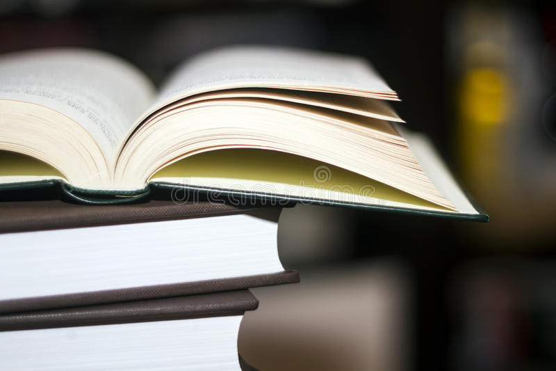 De stapel van het boek stock foto's