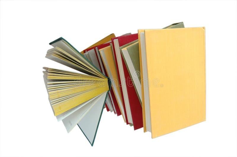 De stapel van het boek stock fotografie