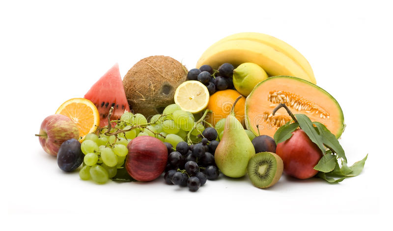De stapel van het fruit royalty-vrije stock foto