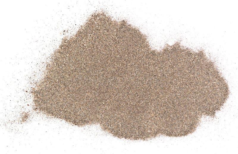 De stapel van het zand stock afbeeldingen