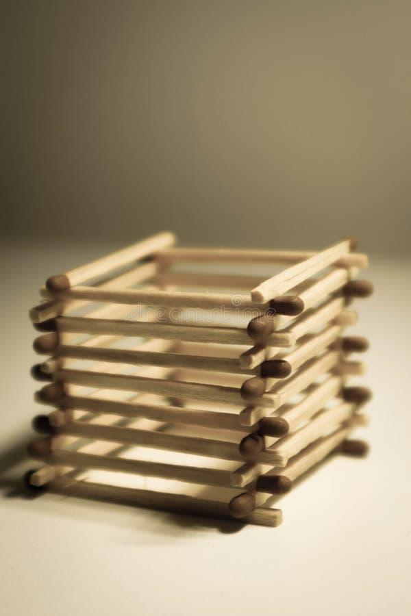 de stapel van veiligheidsgelijken aranged als kubus stock afbeeldingen