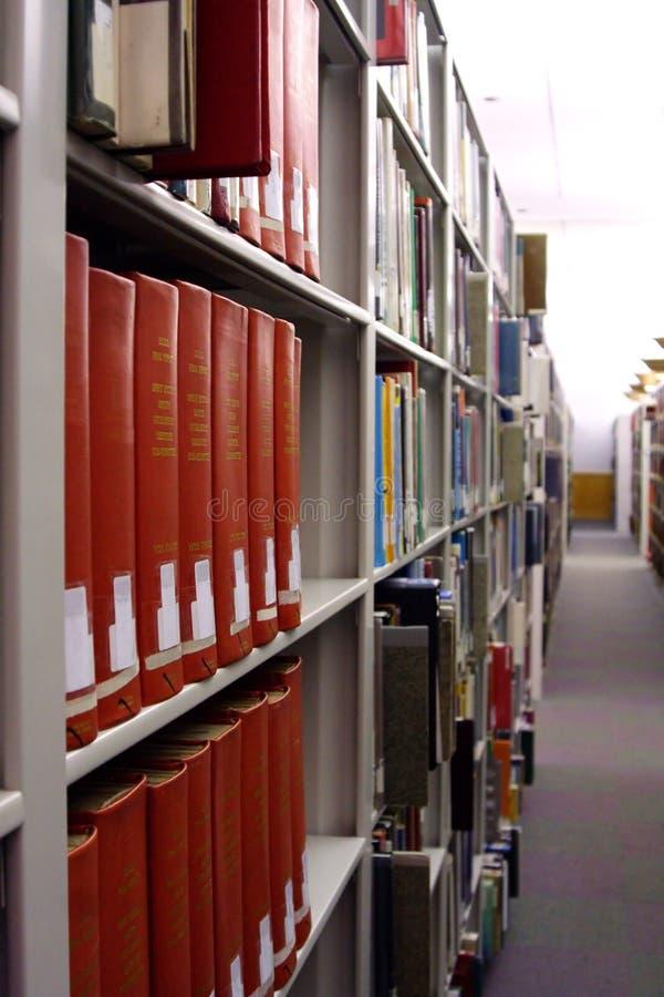 De Stapels van de bibliotheek royalty-vrije stock afbeeldingen
