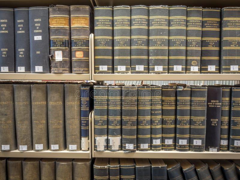 De stapels van de wetsbibliotheek royalty-vrije stock afbeeldingen