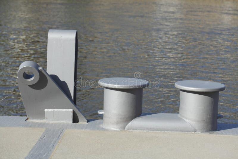 De stapels van de metaalhaven royalty-vrije stock afbeelding