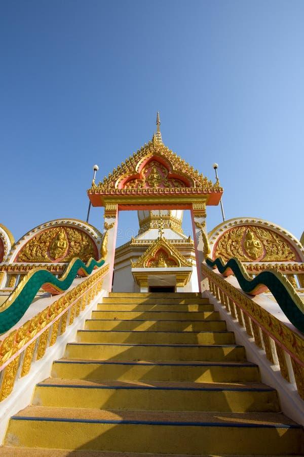De stappen van de tempel royalty-vrije stock afbeeldingen