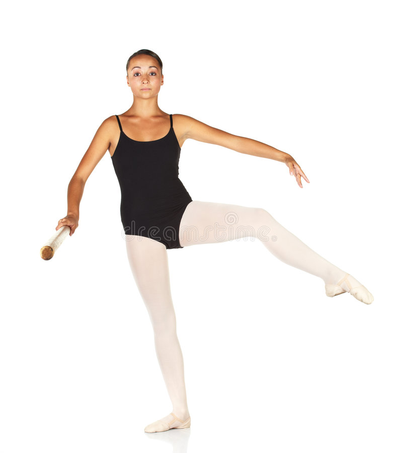 De Stappen van het ballet stock afbeeldingen