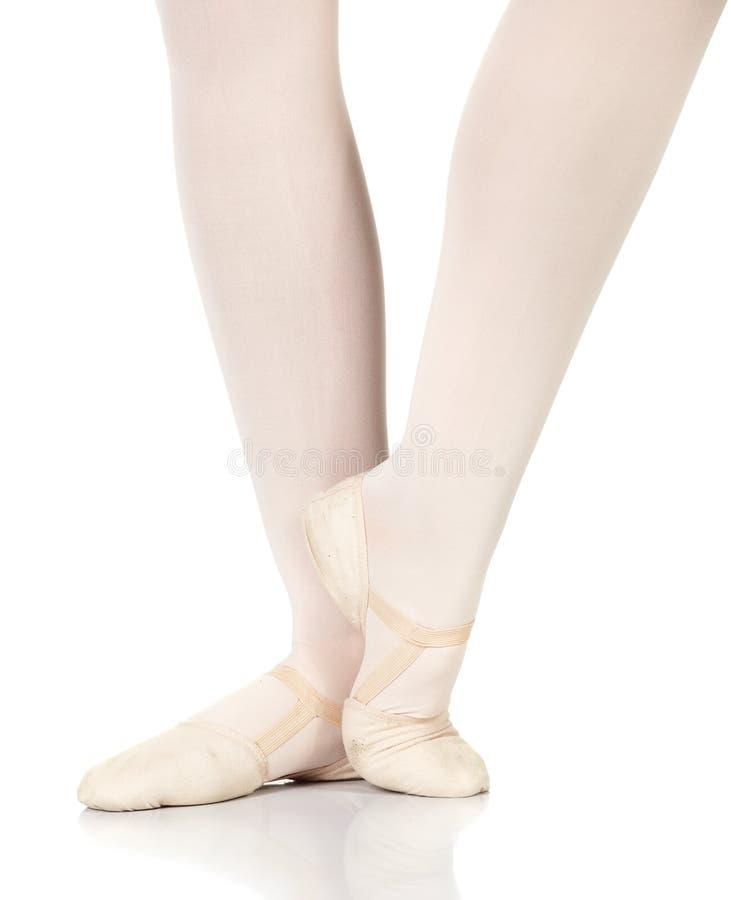 De Stappen van het ballet royalty-vrije stock afbeelding