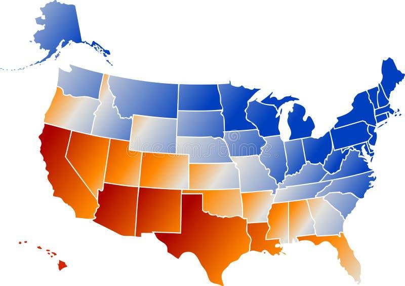 De Staten van het chroom vector illustratie