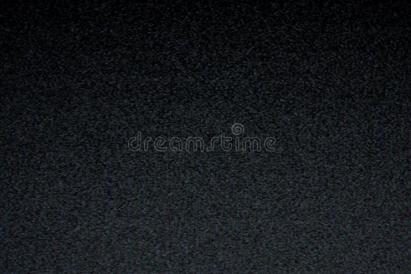 De statische TV-duisternis van de lawaaiantenne stock fotografie