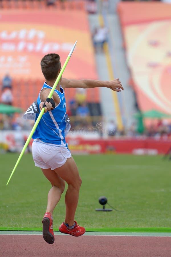 de 8ste IAAF-Kampioenschappen van de Wereldjeugd stock fotografie