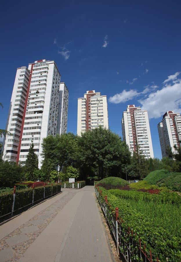 Download De stedelijke bouw stock foto. Afbeelding bestaande uit modern - 10776592