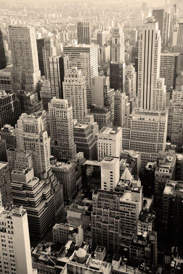 De stedelijke Horizon van de Stad, de Stad van New York royalty-vrije stock afbeelding