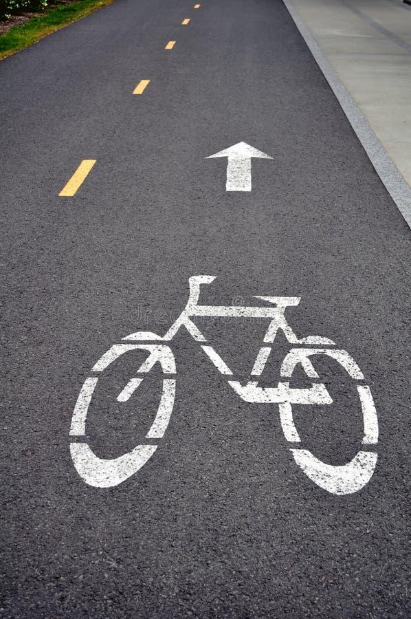 De steeg van de fiets royalty-vrije stock foto's