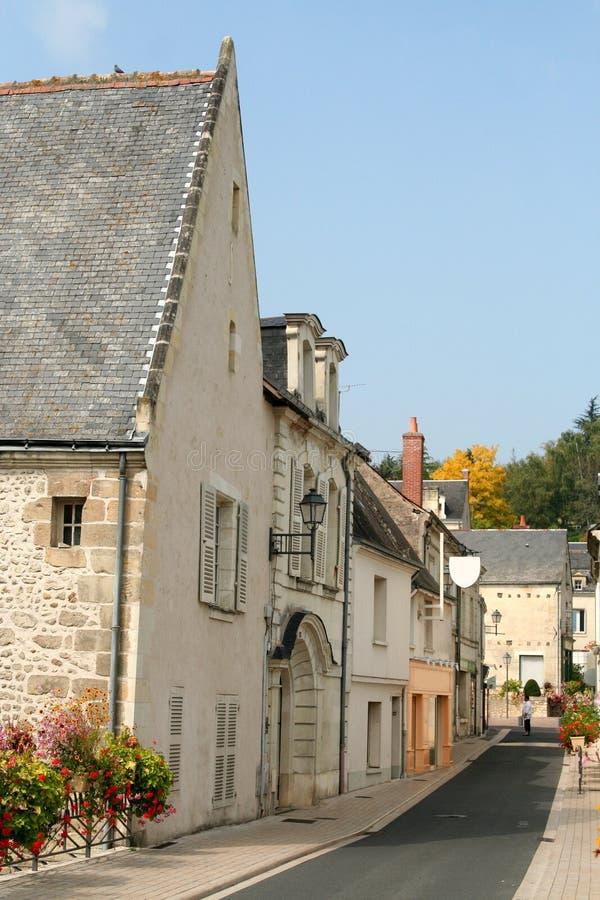 De steeg van het land, Frankrijk stock afbeelding