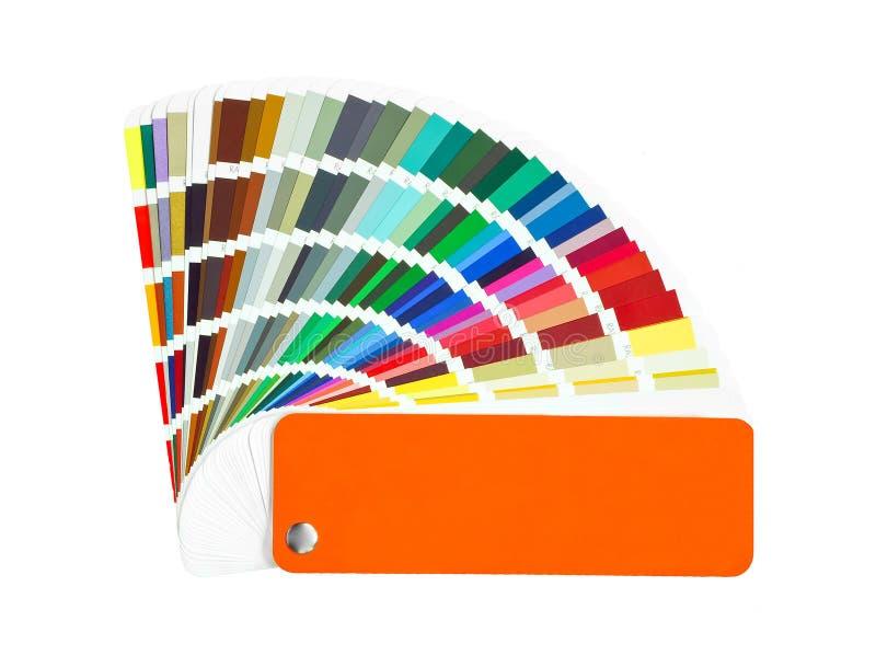 De steekproef van de kleur royalty-vrije stock afbeeldingen