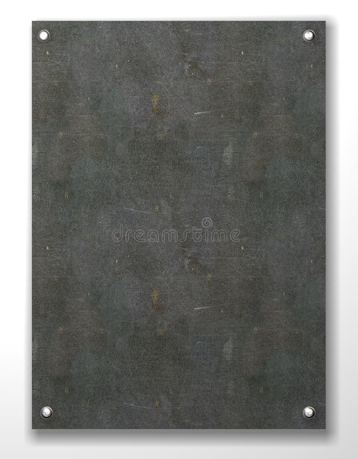 De steen lege tablet voor een inschrijving vector illustratie