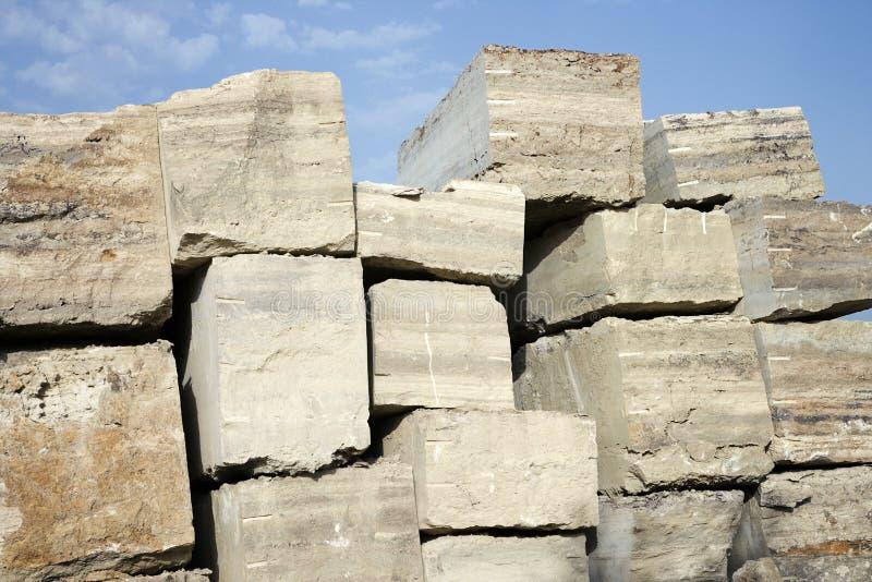 De steen van de travertijn. royalty-vrije stock fotografie