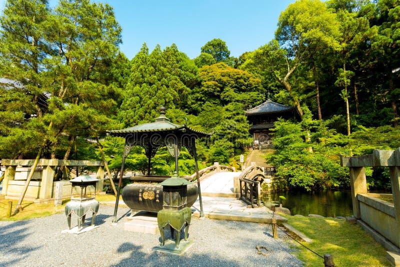 De Steenbrug van de grintweg chion-in Tempel Kyoto stock foto