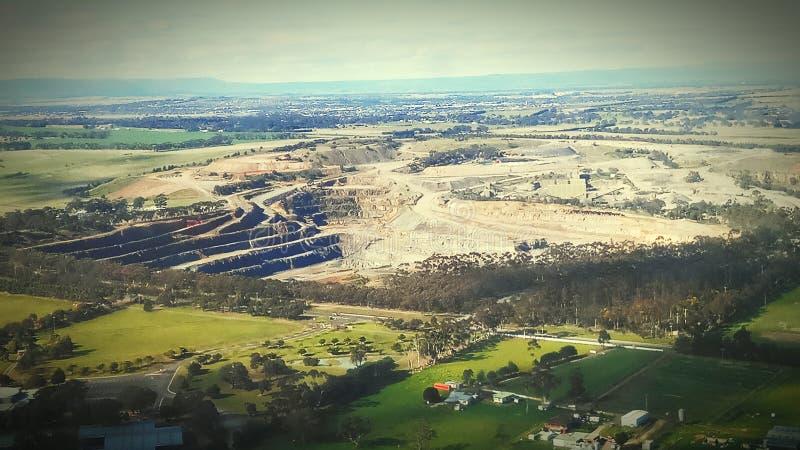 De steengroeve van Melbourne stock fotografie