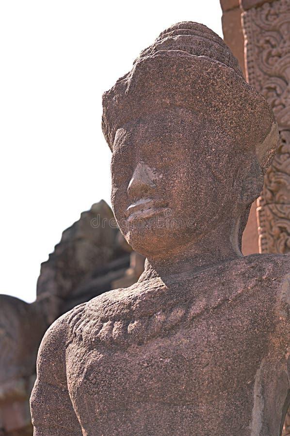 De Steenkasteel van de Phanomsport in buriram, Thailand royalty-vrije stock foto's