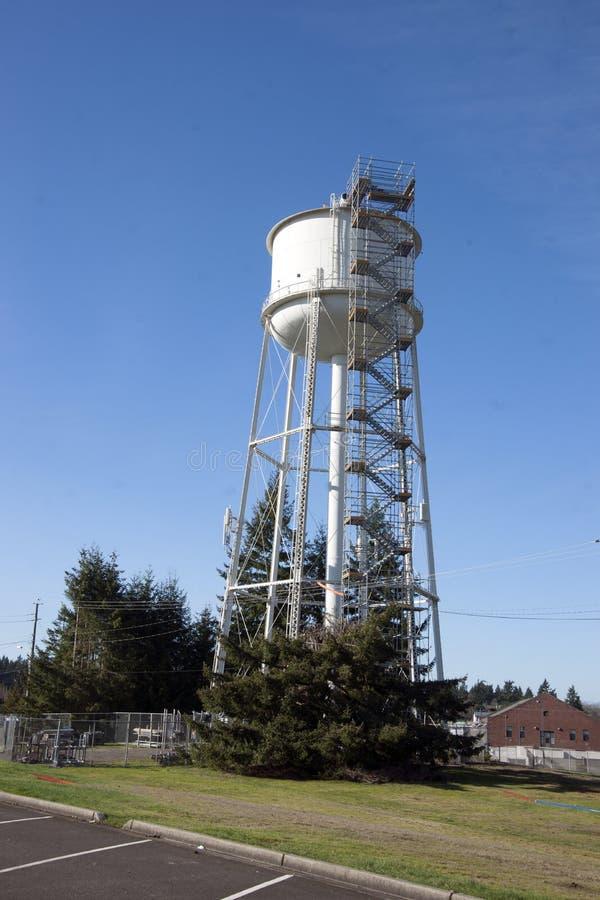 Download De Steiger Van De Watertoren Stock Afbeelding - Afbeelding bestaande uit bouw, tacoma: 54092189