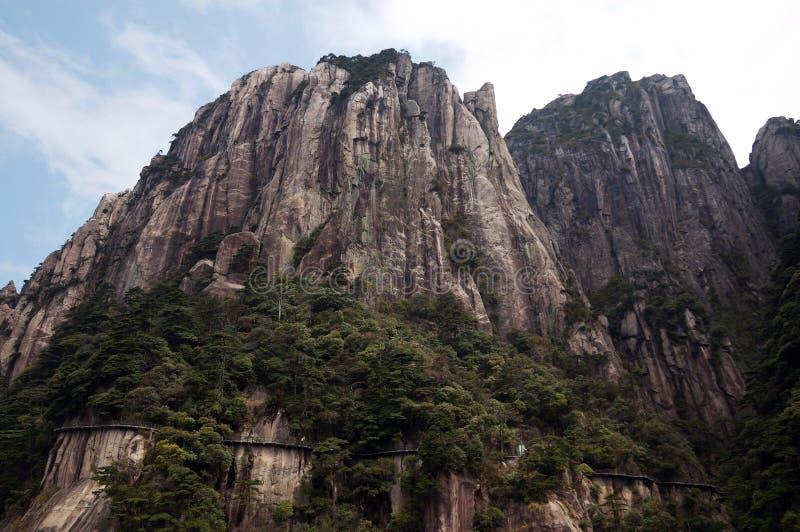 De steile heuvels stock foto