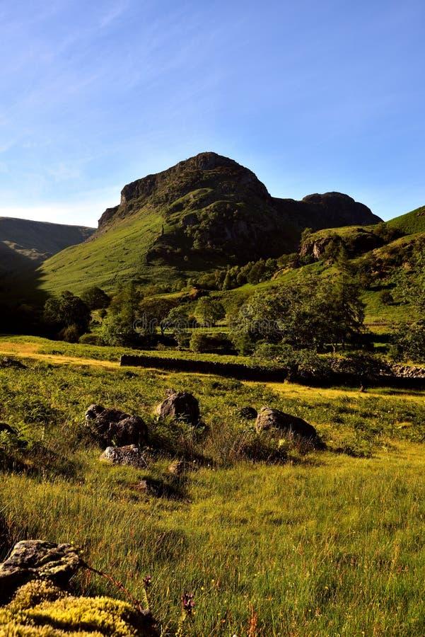 De Steile rots van Eagle Crag en van de Sergeant royalty-vrije stock foto