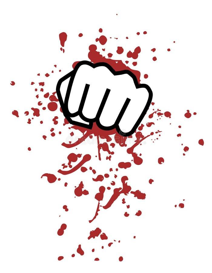 De stempel van het bloed vector illustratie