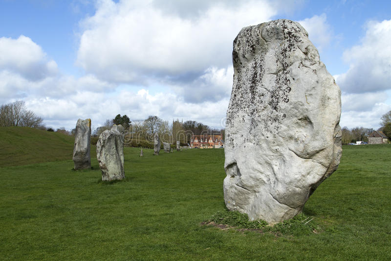 De Stenen van Avebury royalty-vrije stock foto