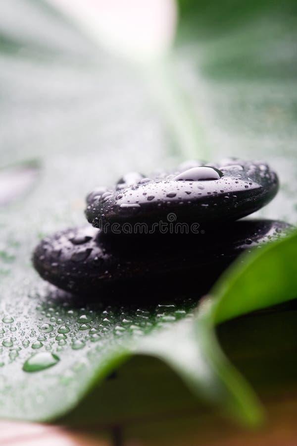 De stenen van de massage royalty-vrije stock foto's