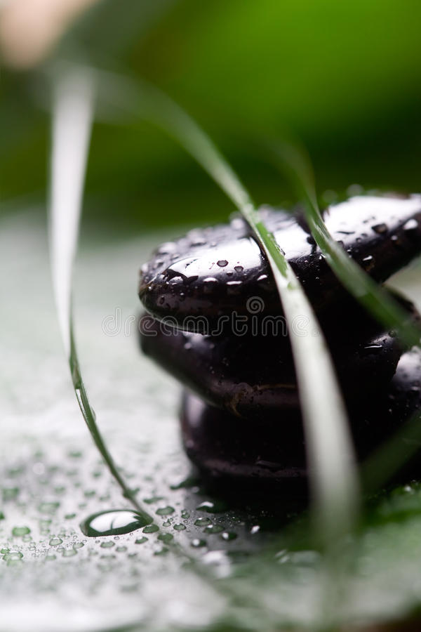 De stenen van de massage royalty-vrije stock afbeelding