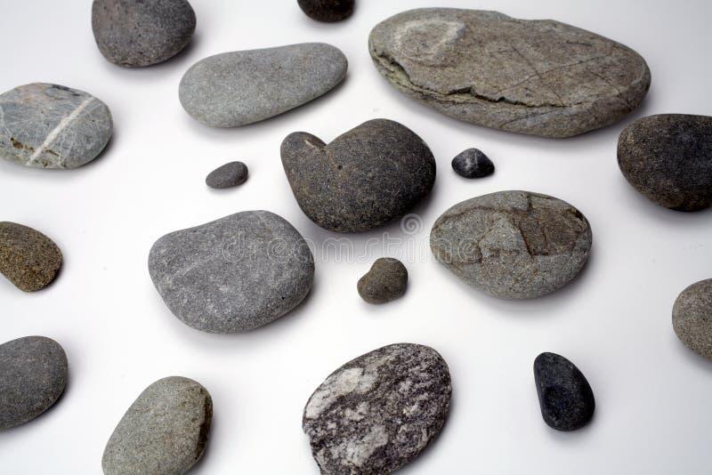 De stenen van de rivier stock foto