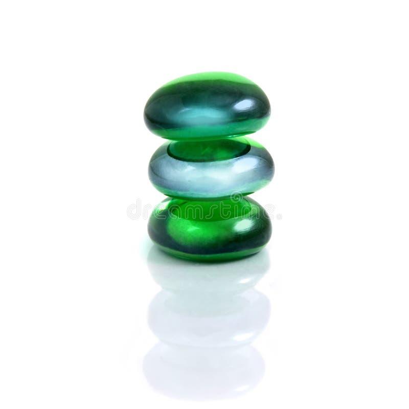 De stenen van het kuuroord royalty-vrije stock afbeelding