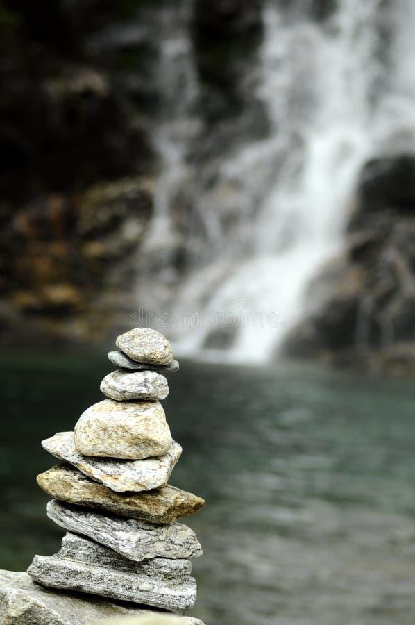 De stenen van Verzasca van Val royalty-vrije stock foto