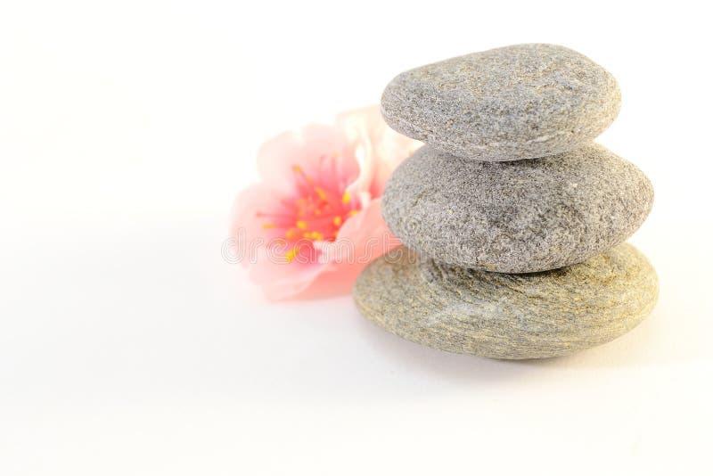 De stenen van Zen stock foto