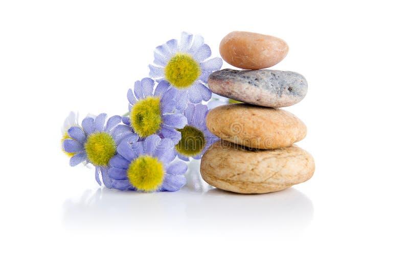 De stenen van Zen stock fotografie