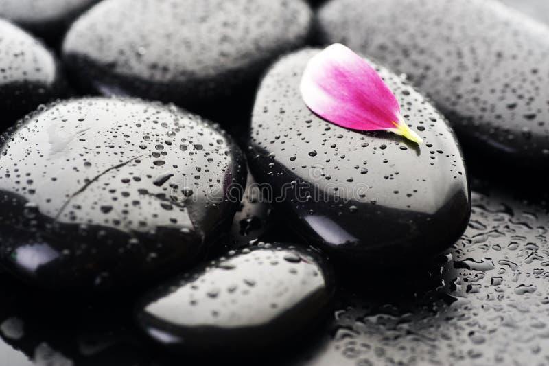 De Stenen van Zen of van het Kuuroord royalty-vrije stock foto's