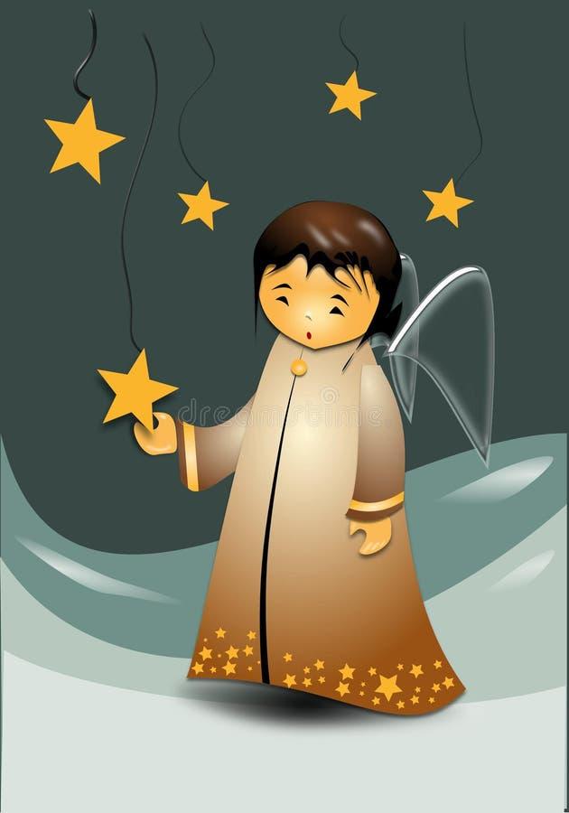 De ster van Angela royalty-vrije illustratie