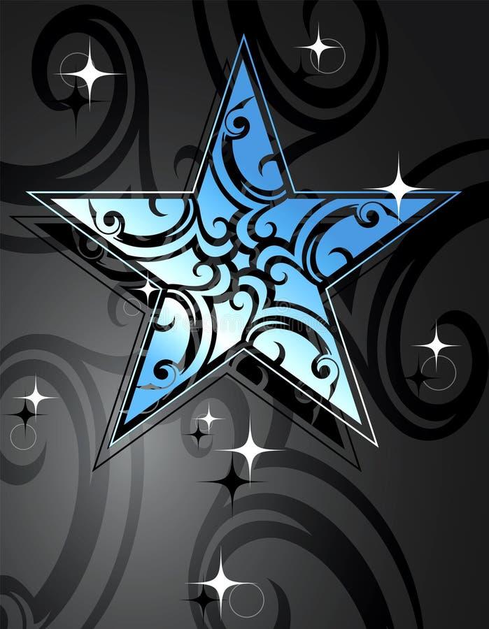 De ster van de aantrekkingskracht vector illustratie
