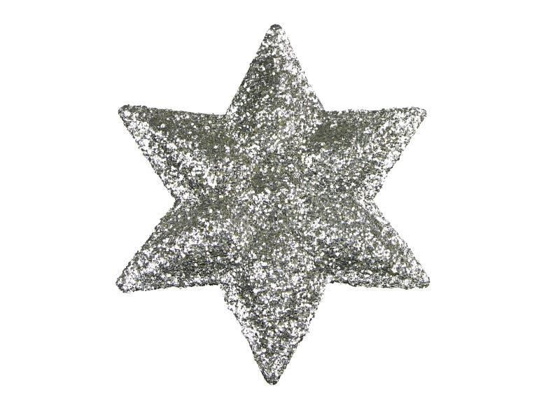 De ster van de kerstboom royalty-vrije stock afbeeldingen