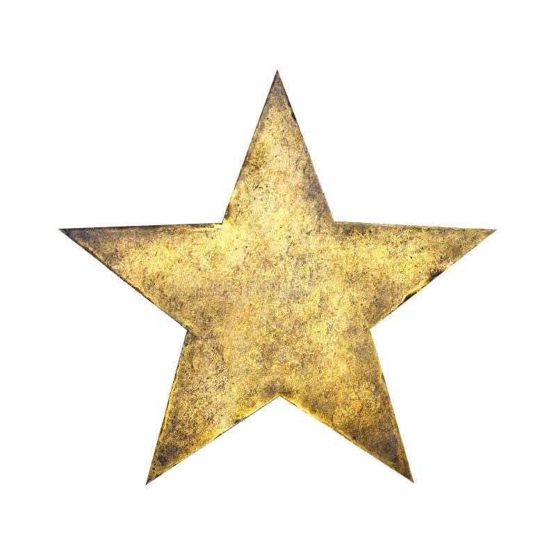 De ster van de rots royalty-vrije stock afbeelding
