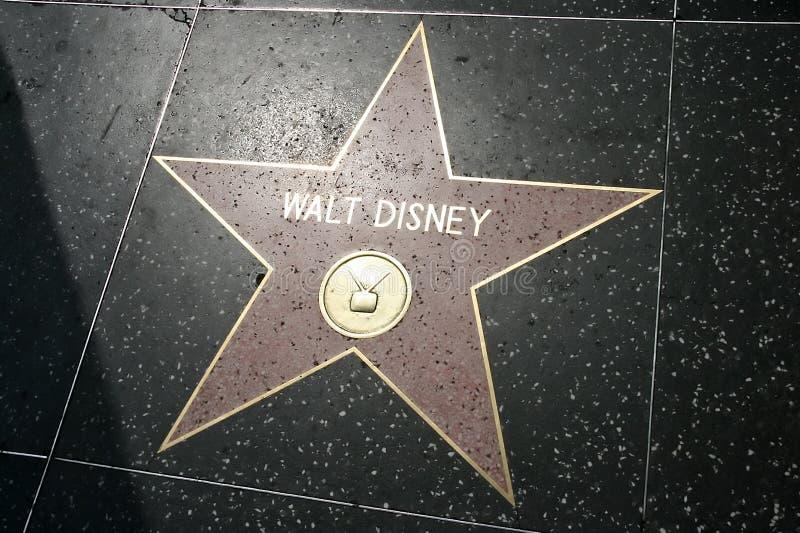 de ster van disney van walt redactionele foto   afbeelding