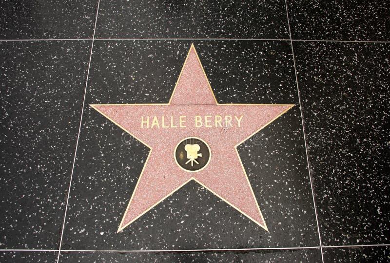 De ster van Halle Berry stock foto