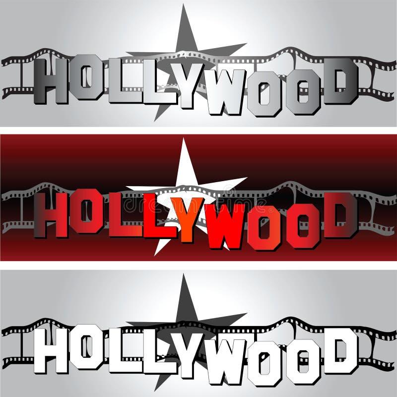 De ster van Hollywood stock illustratie