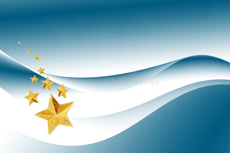 De ster van Kerstmis stock illustratie