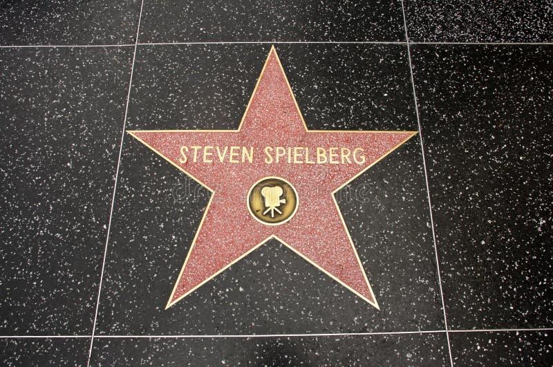 De ster van Steven Spielberg royalty-vrije stock foto