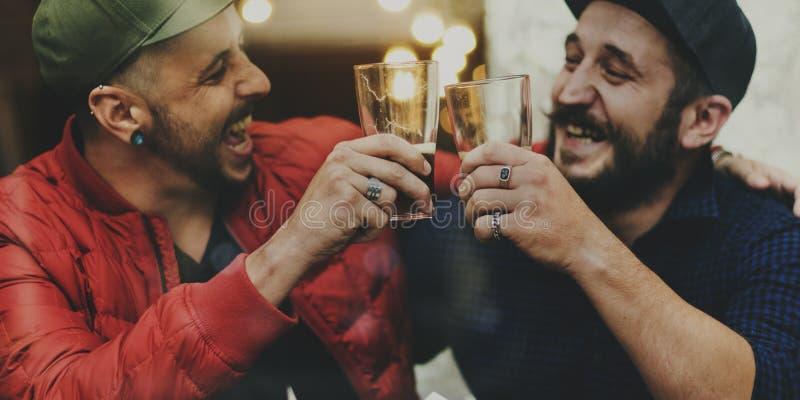 De Sterke drank van het ambachtbier brouwt Alcohol viert Verfrissing stock afbeelding