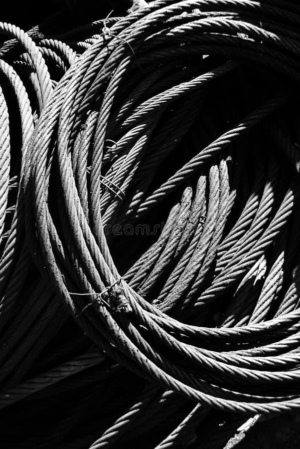 De sterke Kabel van de Draad royalty-vrije stock afbeeldingen